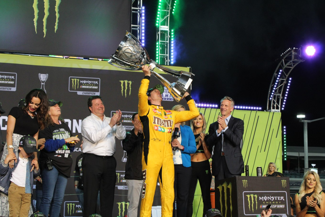 Kyle Busch 2019 champion Homestead