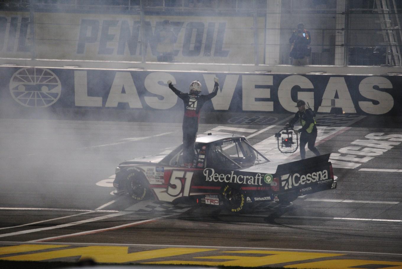 Kyle Busch winner victory Las Vegas 2020