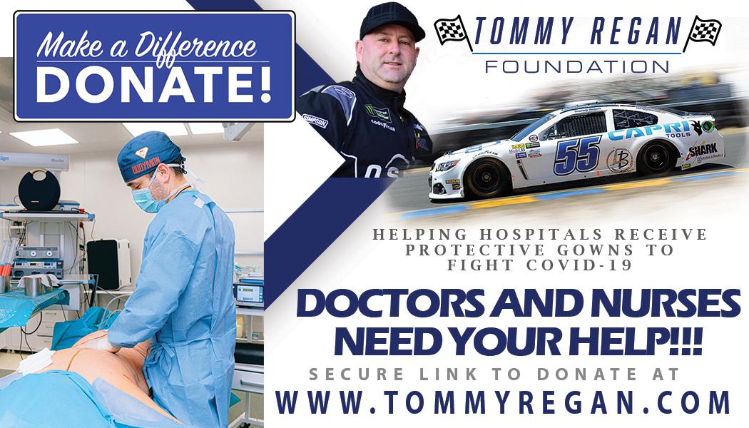 Tommy Regan Foundation donations
