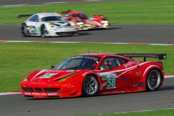 Ferrari 458, Luffield, Silverstone ILMC 2011