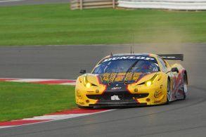 JMW Ferrari 458, Silverstone ILMC 2011
