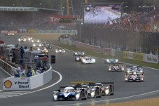 The start, Le Mans 24 Hours 2008