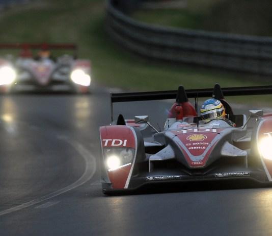 Audi R10 TDI, Porsche Curves, Le Mans 24 Hours 2008