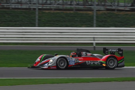 Thiriet Oreca LMP2, Silverstone ILMC 2011