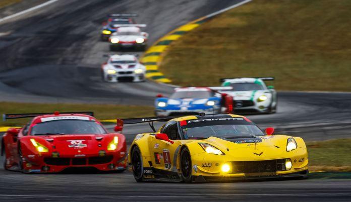 GTLM Corvette Ford Ferrari Petit Le Mans