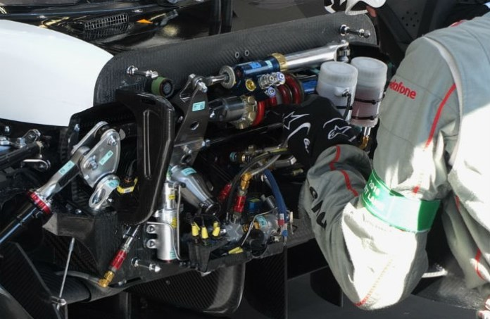Porsche 919 Decoupled Suspension - Mitostile Prototipo