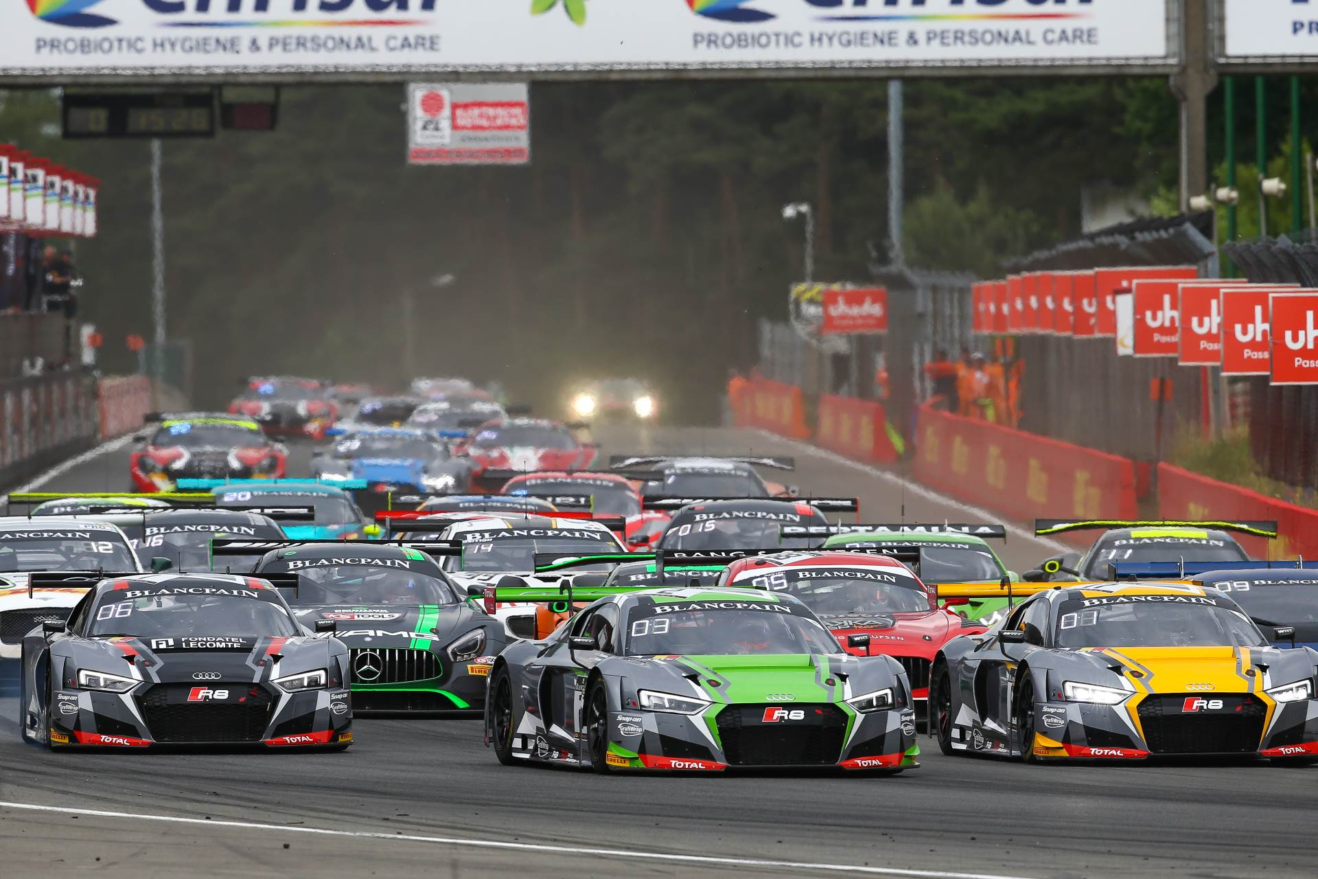 Blancpain gt series kicks off at zolder with sprint cup