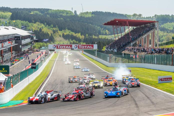 LMP1 Preview - 2018 6 Hours of Spa Turn 1 Start