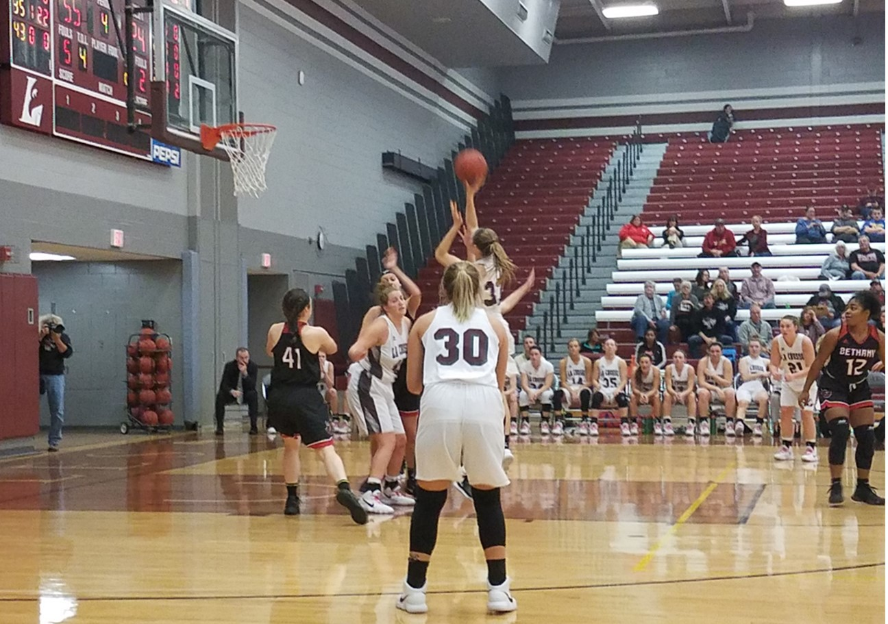 UWL Women's Basketball was victorious against Bethany.