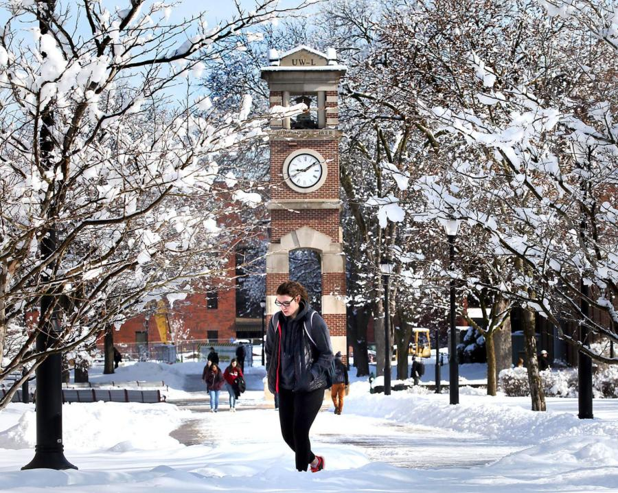 UWL students face winter storms in April