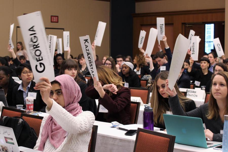 UWL students gain lifelong memories at Model UN conference