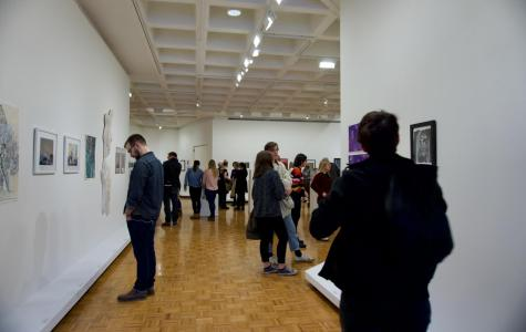 UWL students showcase their art in the all student juried art exhibition