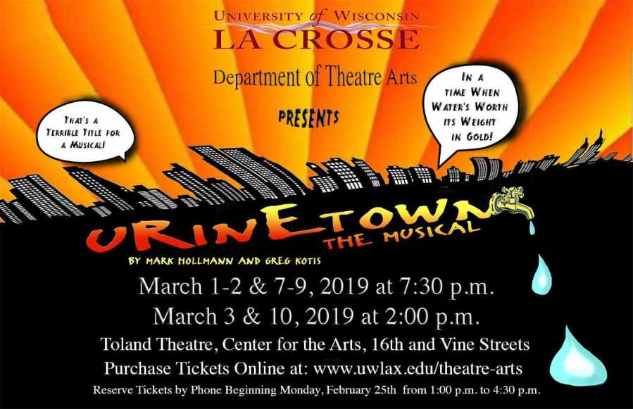 d31afd96b06 UWL Department of Theatre Arts presents Urinetown  The Musical – The ...