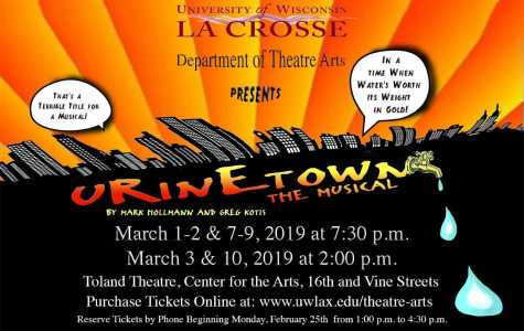 UWL Department of Theatre Arts presents Urinetown: The Musical