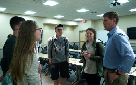 Congressman Ron Kind visits UWL to discuss Green New Deal