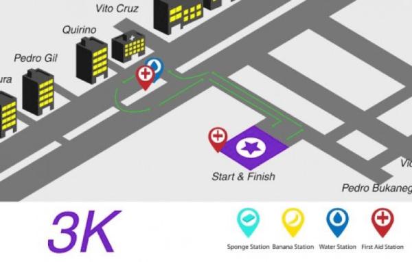 Entrep Run 2015_3K Race Route