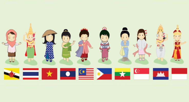 Four Waves of Southeast Asia: Forming the most diverse region in the world
