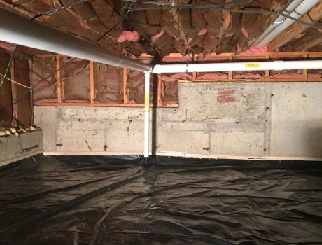 Radon Mitigation in Crawlspace