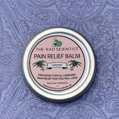 coconut pain relief balm in regular strength