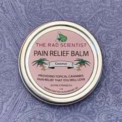 Coconut Pain Relief Balm in extra strength
