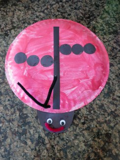 Lady Bug from Toddler Time - I love this bug's spot style!