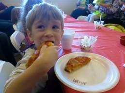 Mmm - pepperoni pizza!