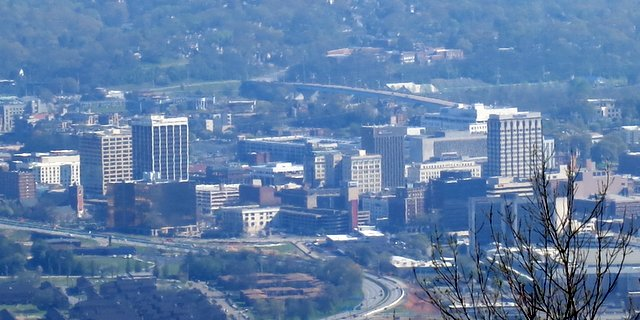 The view from Lookout Mountain is really cool!