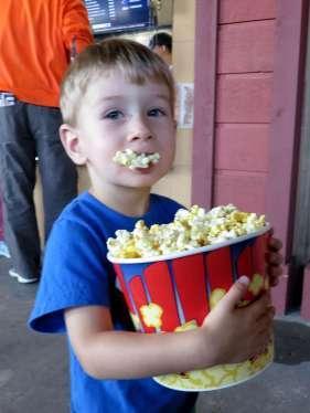 Mmm mmm popcorn!