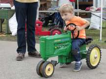 At last, a tractor I can really drive!