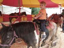 I also rode a pony :)