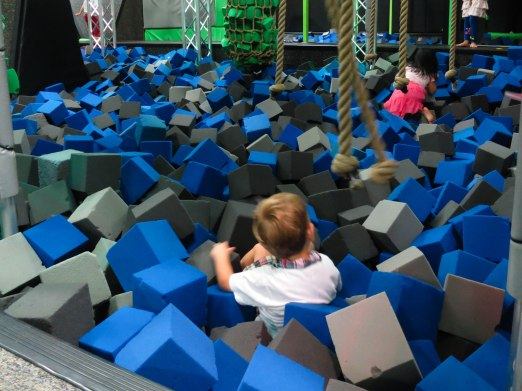 Daddy took me to Defy Gravity