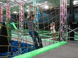 We had lots of fun jumping & climbing!