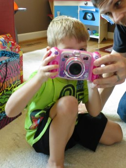 And taking photos! Say cheese!