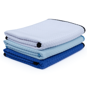 41 X 61CM DRY ME A RIVER! Waffle-Weave Towel