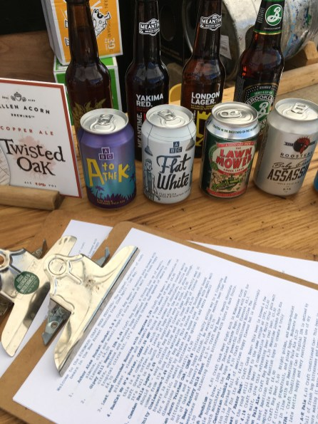Craft Bar and Tap Room in The Railway Craft Pub Beer Garden