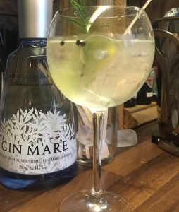 The Railway Craft Gin Bar Gin Mare