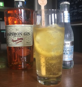 The Railway Craft Gin Pub- Gabriel Boudier Saffron Gin and Tonic