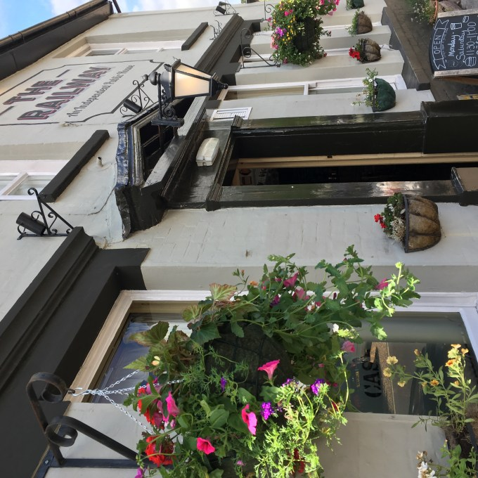 Front of award winning new forest pub