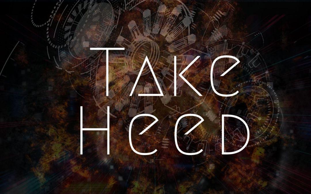 Take Heed – Music by The Rain