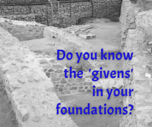 archeological foundations