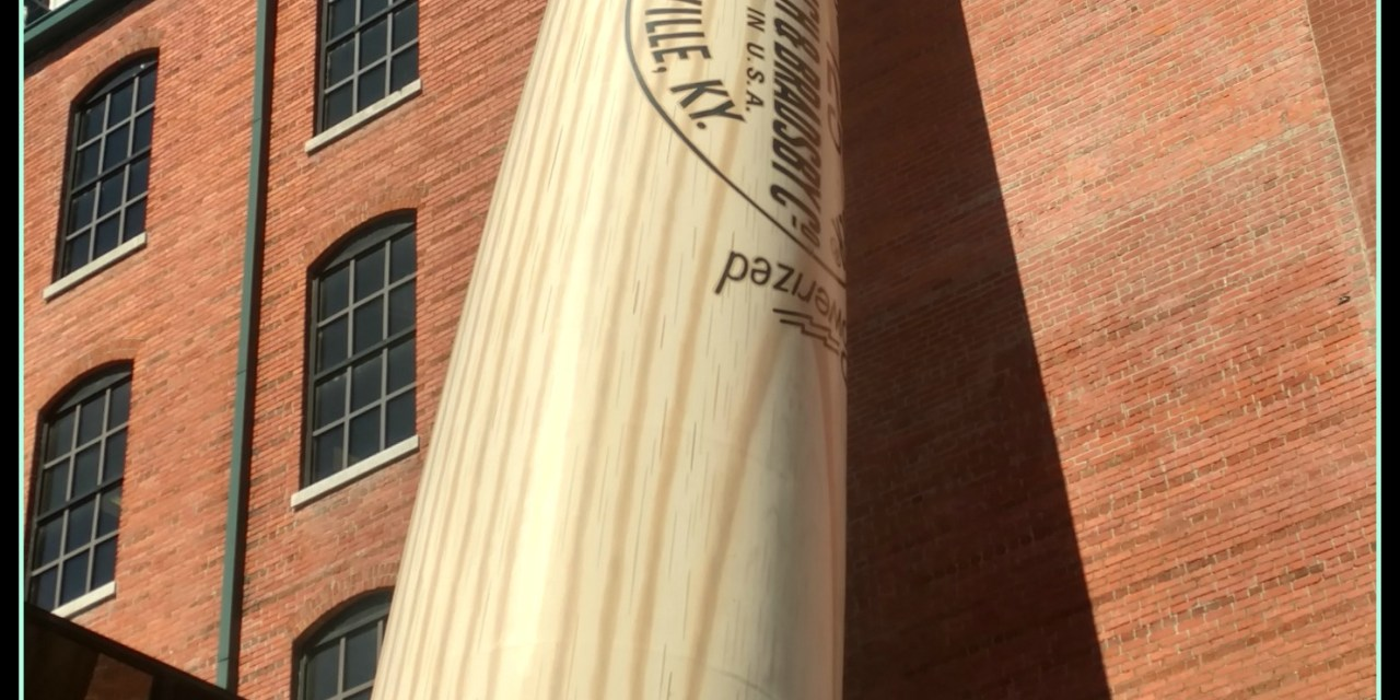 Family Vacation 2016 – Wisconsin to Florida (and back) LOUISVILLE SLUGGER MUSEUM