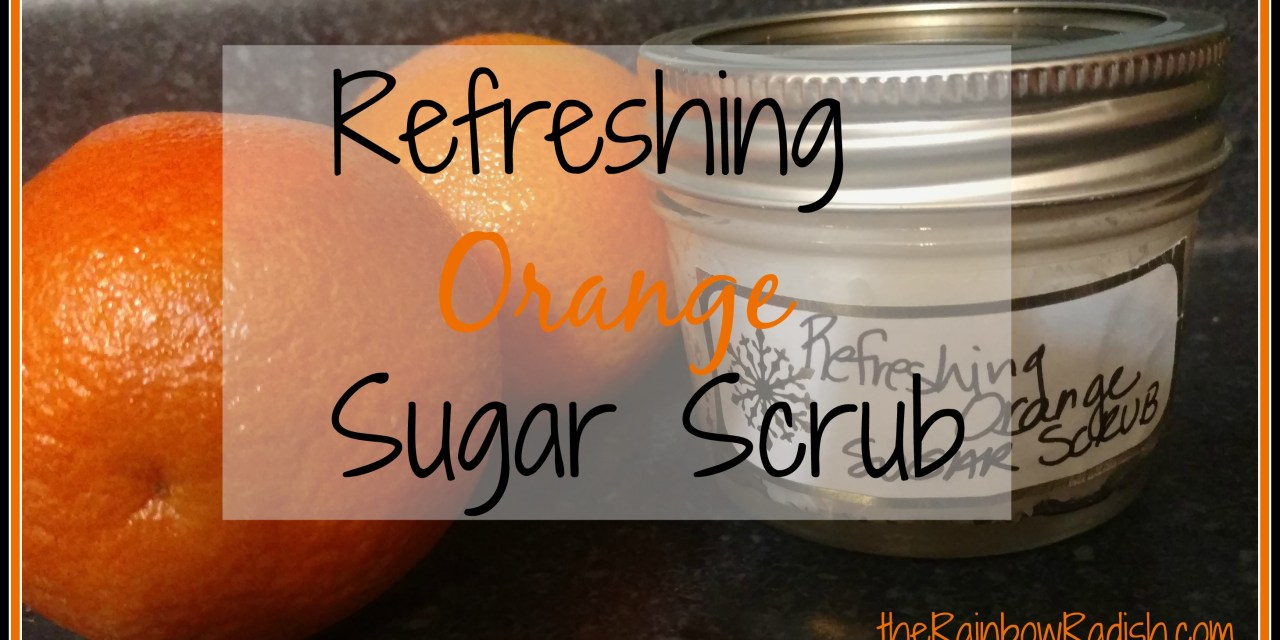 Refreshing Orange Sugar Scrub