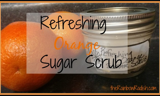 Refreshing Orange Sugar Scrub