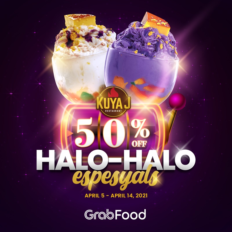 Cool Down With The Kuya J's Best-Selling Halo-Halo Specials At 50% OFF