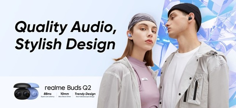 Realme Buds Q2 Elevates Standard Of Affordable TWS With Stylish Design And Quality Audio