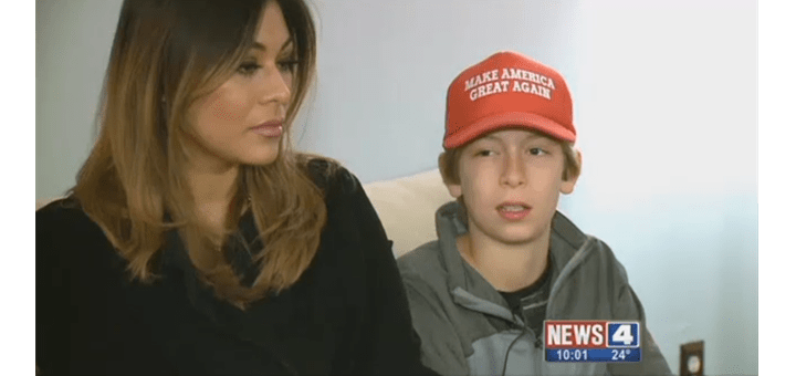 "12-Year-Old Attacked on Bus for Wearing ""Make America Great Again"" Hat"