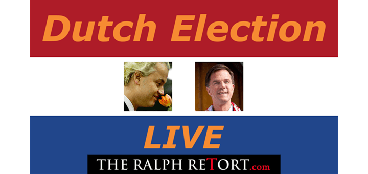 Dutch Election LIVE Stream @ 4:15PM EST!