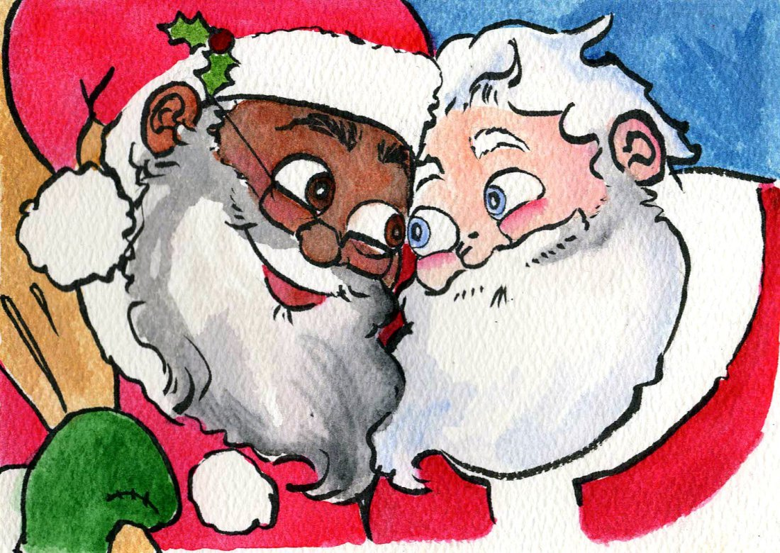 HarperCollins Imprint Set to Publish a Children's Book About Santa Being in a Gay Interracial Relationship