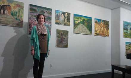 Curtin's artwork recalls Irish heritage