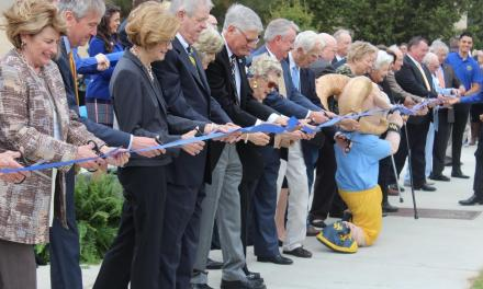 Rosedale Renaissance dedication ceremony celebrates revitalization to Wesleyan campus